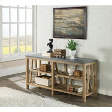Weatherford - Sofa Table Top - Bluestone Finish