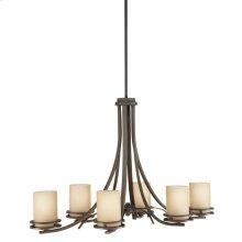 Hendrik 6 Light Chandelier Olde Bronze®
