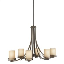 Hendrik 6 Light Chandelier Olde Bronze®