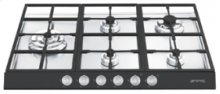 "72CM (approx. 28"") ""Linea"" Gas Cooktop Black"