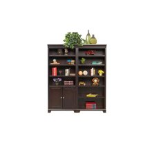 "75"" Open Bookcase $499.00 and Bookcase with Doors $559.00"