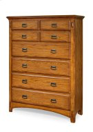 Pasadena Revival Six Drawer Chest Product Image