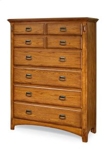 Pasadena Revival Six Drawer Chest
