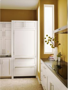 "Close Out Unit On Bargain Center 36"" Combined refrigerator-freezer"