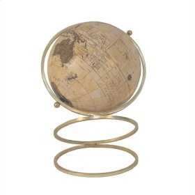 """Globe On Ring Stand 17"""""""