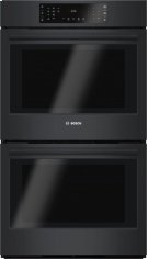 """800 Series 30"""" Double Wall Oven, HBL8661UC, Black Product Image"""