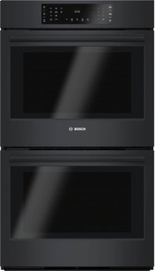 """30"""" Double Wall Oven, HBL8661UC, Black"""