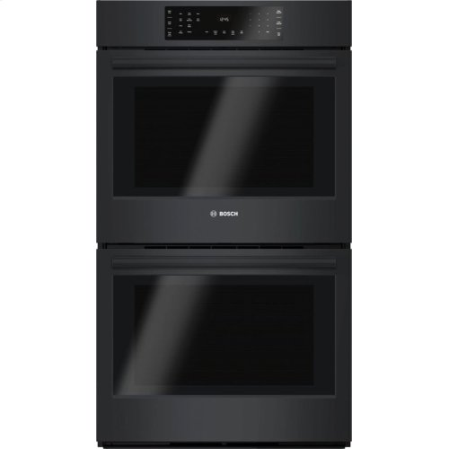 """800 Series 30"""" Double Wall Oven, HBL8661UC, Black"""