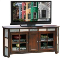 Fire Creek 62inch Angled TV Cart