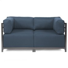 Axis 2pc Sectional Sterling Indigo Titanium Frame