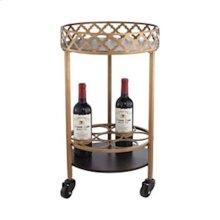 Circular Bar Cart