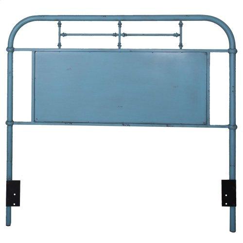 Full Metal Headboard - Blue