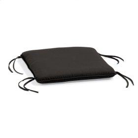 Siena Ottoman Cushion - Canvas Black