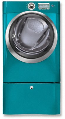 Electric Front Load Dryer with Wave-Touch Controls