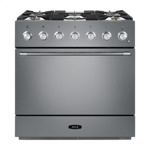 "AGAStainless Steel 36"" AGA Mercury Dual Fuel Range"