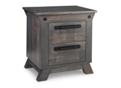 Algoma 2 Drawer Night Stand with Power Management