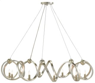 Ringmaster Chandelier - 16h x 46dia., adjustable from 21h to 132