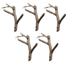 Pine Double Hook- 5 Piece Set
