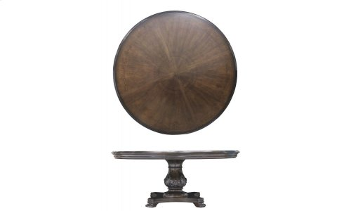 "Continental Round 72"" Dining Table - Weathered Nutmeg"