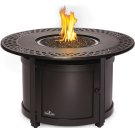 Victorian Round Patioflame Table , Bronze , Propane Product Image