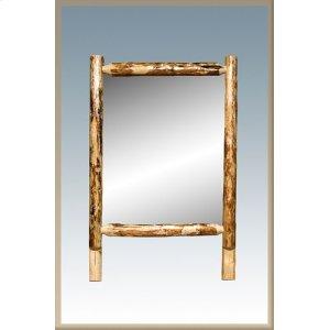 Montana WoodworksGlacier Country Log Dresser Mirror