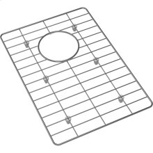 "Crosstown Stainless Steel 11"" x 15"" x 11/16"" Bottom Grid for Glass Top Sink"
