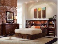 Bookcase Nightstand