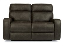 Tomkins Fabric Power Reclining Loveseat with Power Headrests