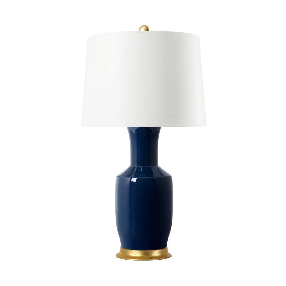 Alia Lamp, Navy Blue