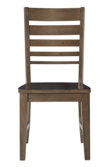Ladder Back Chair Pewter