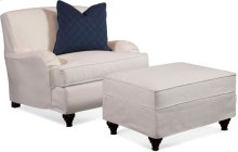 Crown Estate Ottoman with Slipcover
