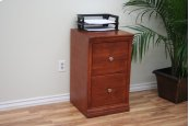"A-T178 Traditional 2-Drawer Letter File Cabinet, 17 7/8""W x 17""D x 30""H"
