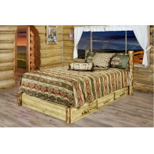 Glacier Country Platform Beds with Storage
