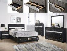 Regata Dresser Black/silver