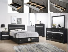 Regata Dresser Top Black/silver