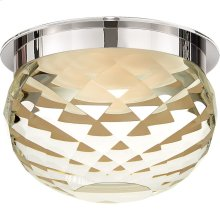 Visual Comfort S7000PN-CG Studio Hillam LED 6 inch Polished Nickel Flush Mount Ceiling Light