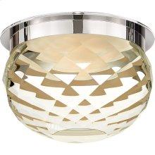 Visual Comfort S7000PN-CG Studio Hillam LED 6 inch Polished Nickel Flush Mount Ceiling Light