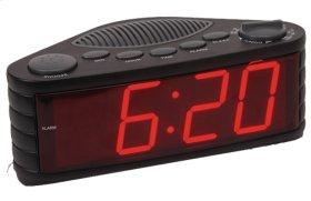 "Clock Radio Jumbo Digit 1.8"""