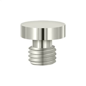 Button Tip - Polished Nickel