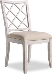 Sunset Point Upholstered X-Back Side Chair