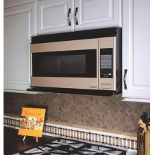 "Over the Range 30"" Microwave Hood in Black"