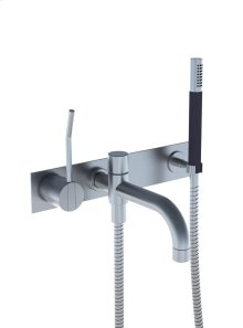 One-handle build-in mixer with ceramic disc technology - Grey