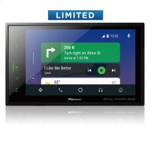 "Modular 8'' Capacitive Multimedia Receiver with Apple CarPlay "", Android Auto "", Built-in Bluetooth ® , SiriusXM Ready "", iDataLink ® Maestro "", and Remote Control Included"