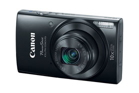 Canon PowerShot ELPH 190 IS Black Digital Camera