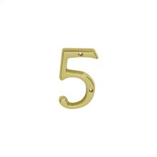 House Accessories  Classic House 5 - Bright Brass