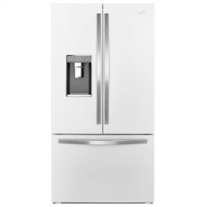 36-inch Wide French Door Refrigerator with Infinity Slide Shelf - 32 cu. ft. - WHITE ICE