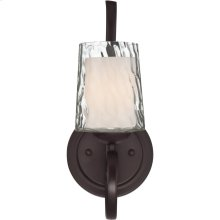 Adonis Wall Sconce in Dark Cherry