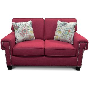 England Furniture Yonts Loveseat With Nails 2y06n