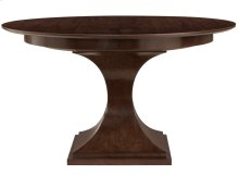 Haven Round Dining Table in Brunette (346)