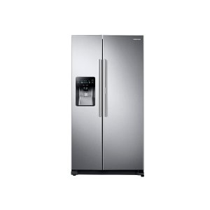 24.7 cu. ft. Side-by-Side Food ShowCase Refrigerator with Metal Cooling - STAINLESS STEEL
